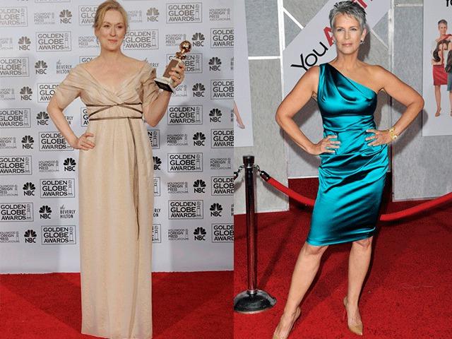 Вечерние фасоны платьев для женщин 50 лет