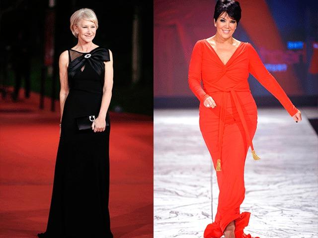 Интересные фасоны платье для женщин 50 лет