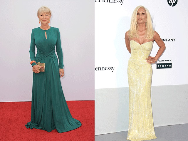 Торжественные фасоны платьев для женщин 50 лет