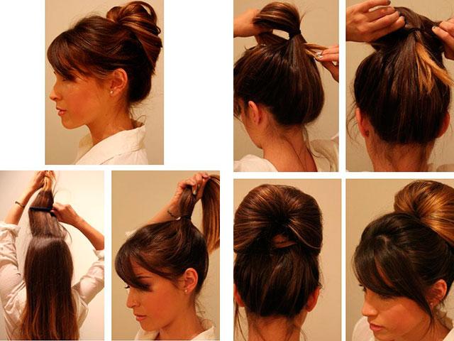 Как сделать красивую прическу на длинные волосы самостоятельно