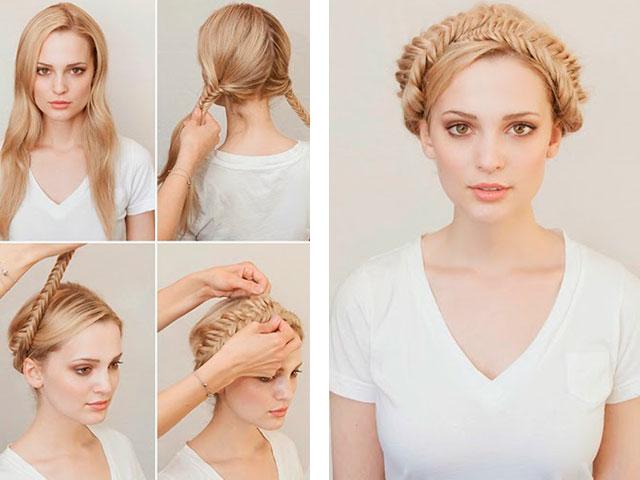 Как сделать модные причёски на длинные волосы самостоятельно