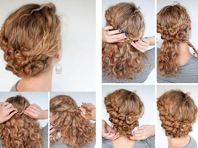 Модные причёски на длинные волосы в домашних условиях