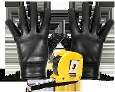 Калькулятор размеров перчаток