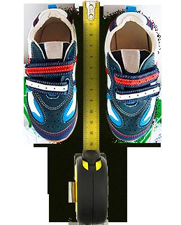 Калькулятор размеров детской обуви (1-6 лет)