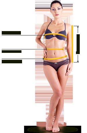 калькулятор размеров женской одежды