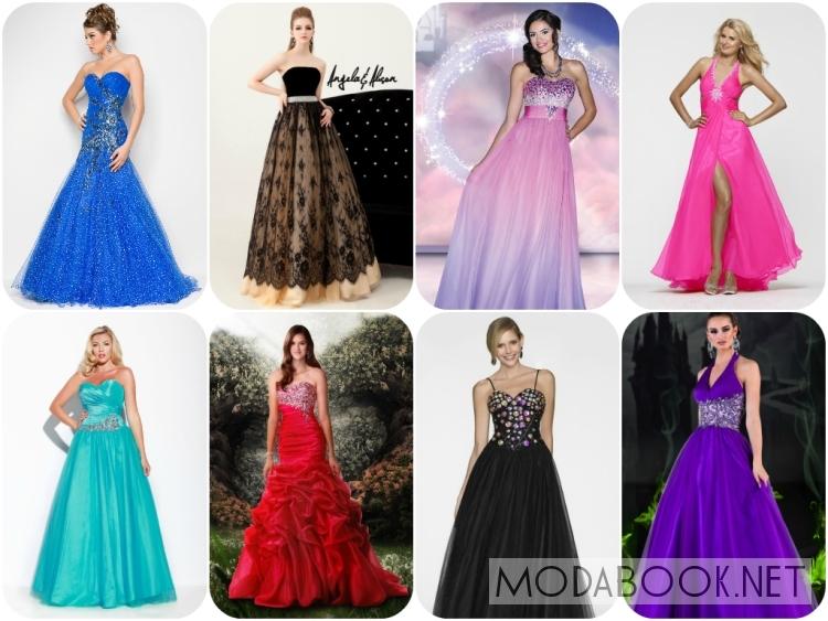 Платья на выпускной 2014 с пышным низом