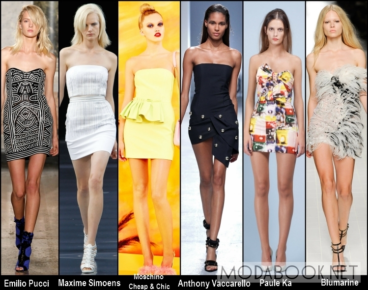 Летние платья 2014 для клубных вечеринок