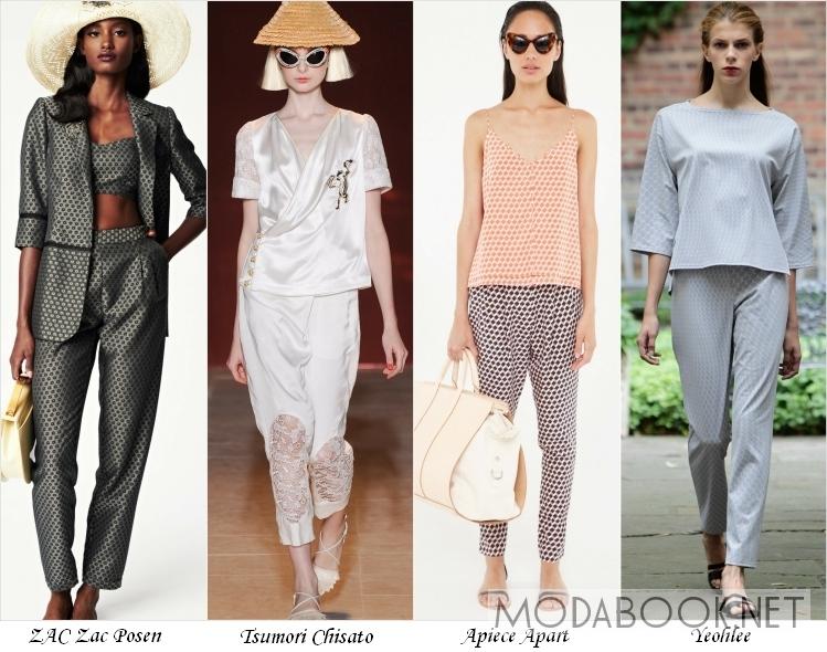 Мода на пижамы летом 2014