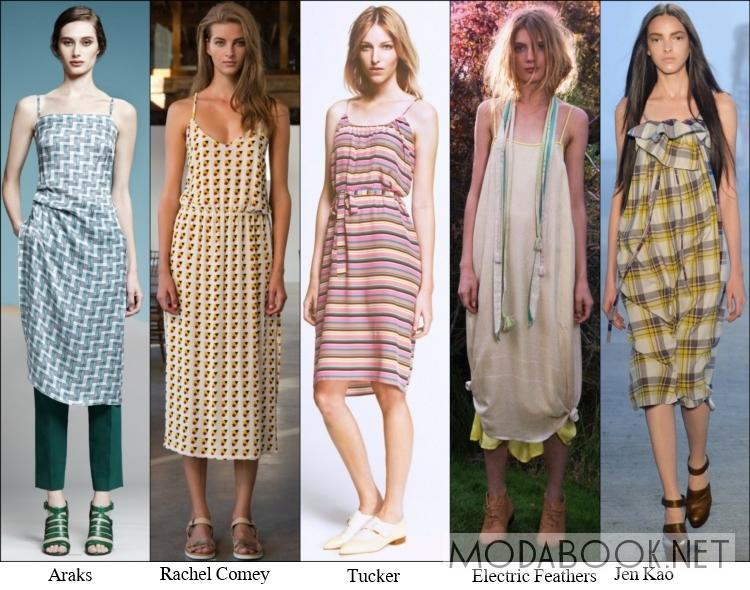 Сельский гламур в моде на сарафаны 2014 года