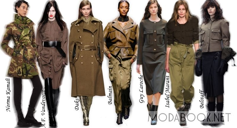 Модные тенденции на осень 2014 года