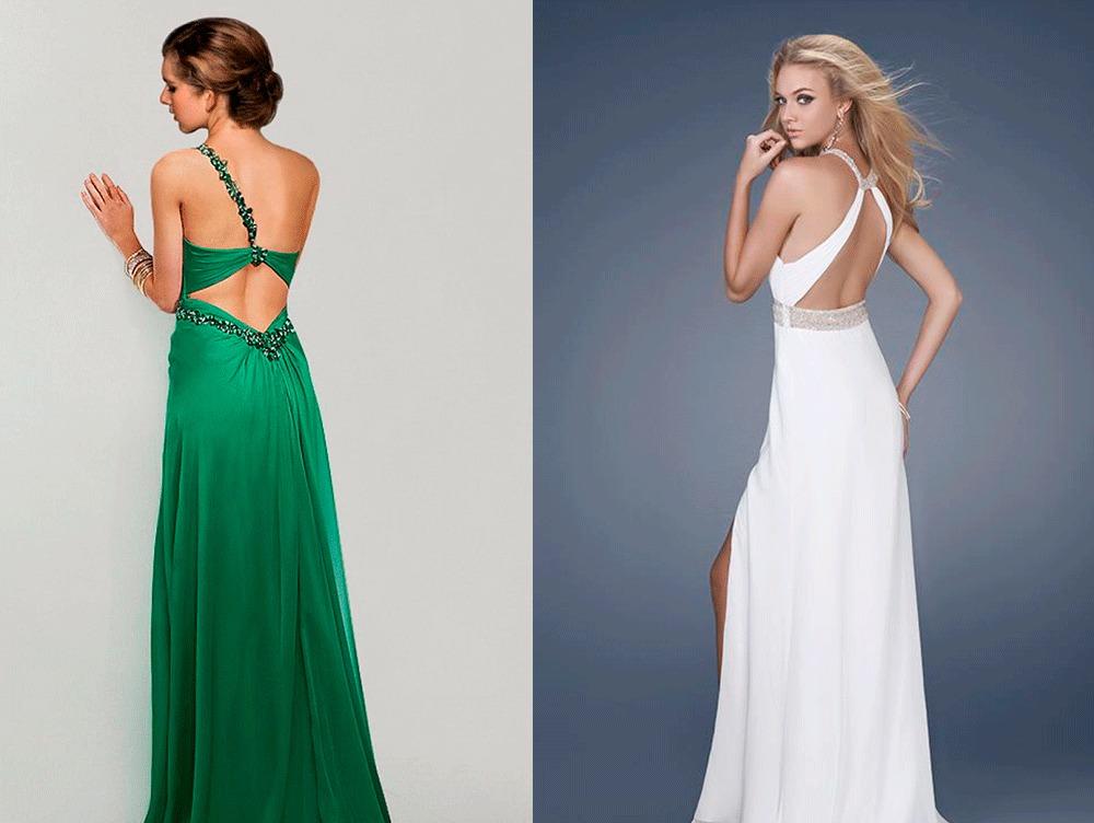 Купить Вечерние Платья С Открытой Спиной