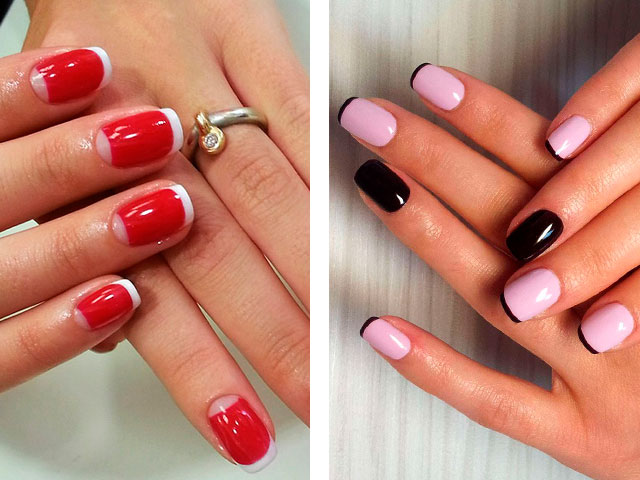 Маникюр 2016 модные осень фото на короткие ногти