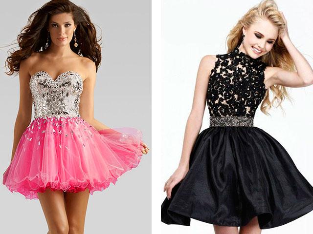 Купить Короткое Пышное Вечернее Платье