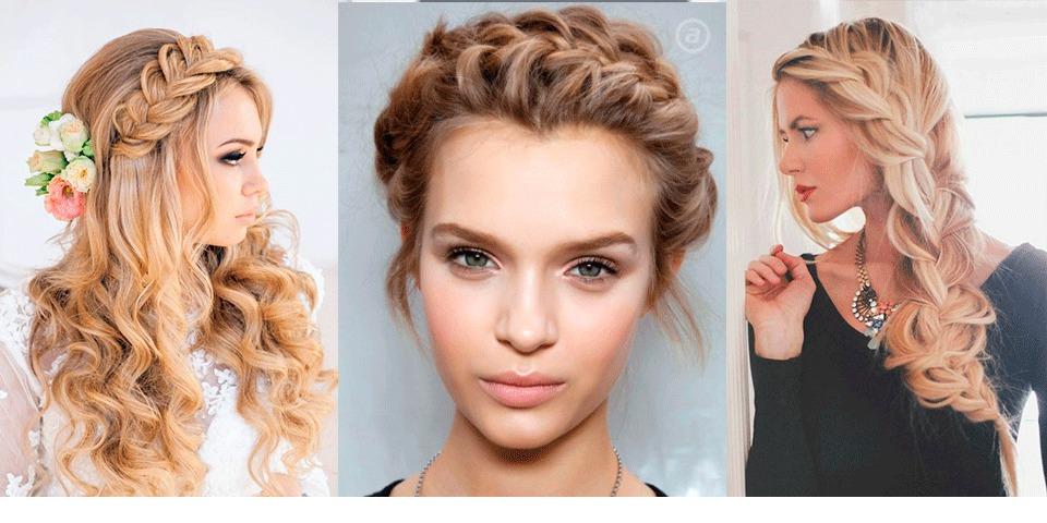 Убранные причёски на длинные волосы