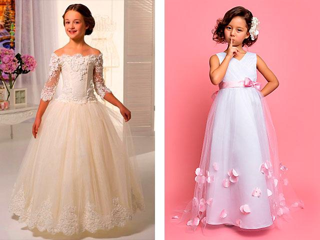 Вечернее платье для девочки 6 лет