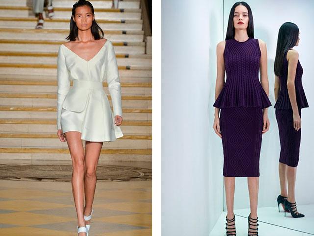 Модное платье по фигуре