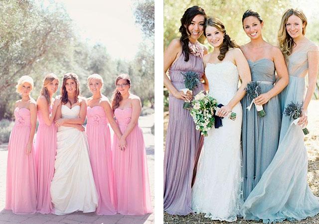 Модное платье для подружки невесты - фото новинки 2019 8842f8021189f