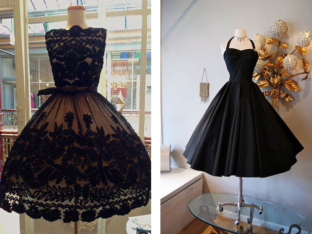 Платье в стиле 50-х с пышной юбкой купить
