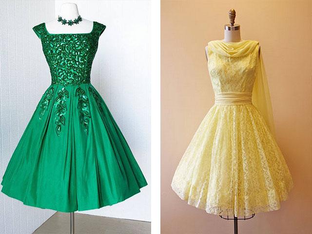 Платье 60-х годов с пышной юбкой своими руками 94