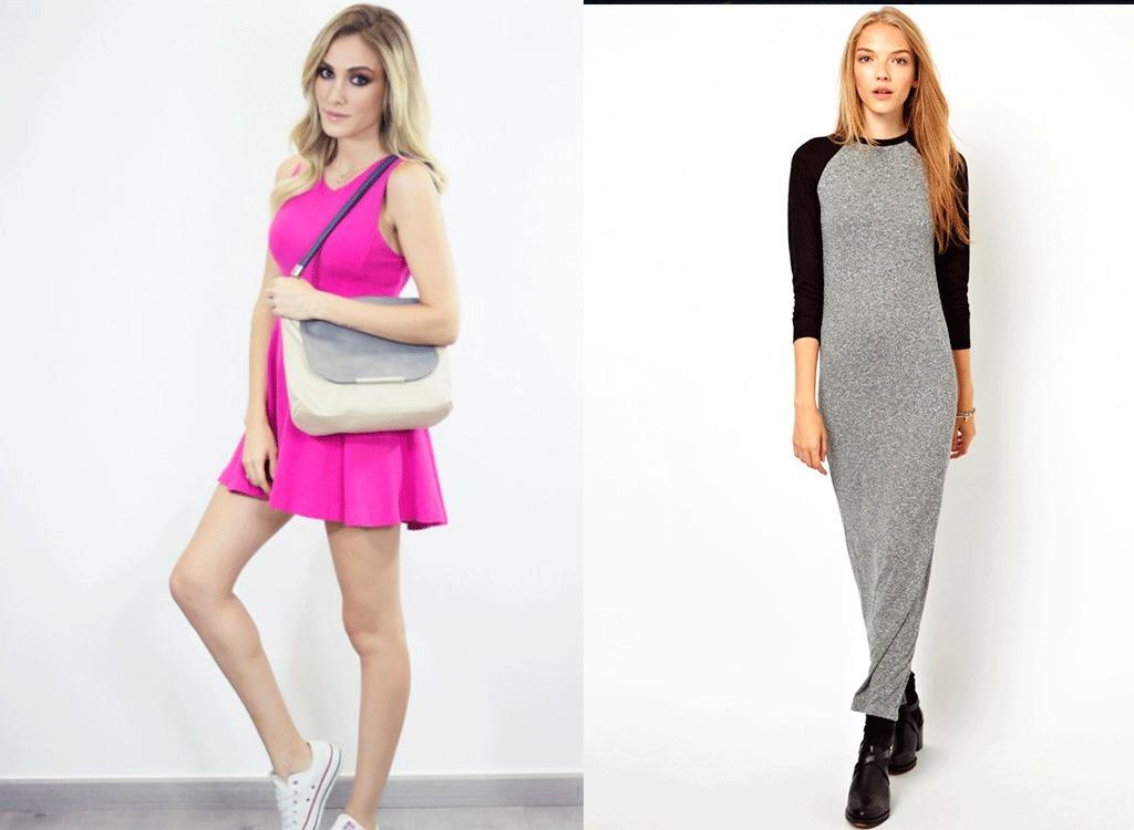 61202c04dc4 Модные платья в спортивном стиле  фото для модных девушек