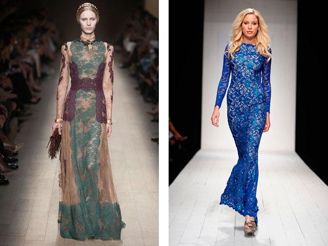 Модные платья в пол 2016