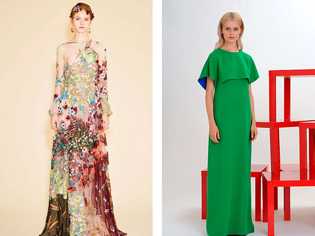 Модные длинные платья в пол 2016