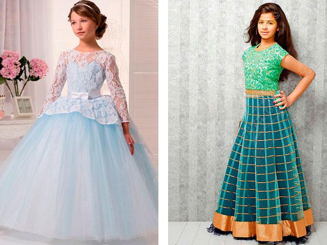 Красивые модные платья для девочек