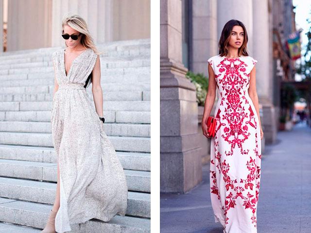 шифоновые платья в пол фото 2016