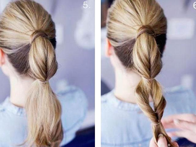 Как сделать красивую прическу на длинных волосах