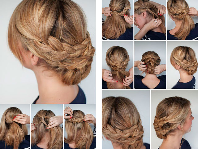Простые прически из длинных волос в домашних условиях видео