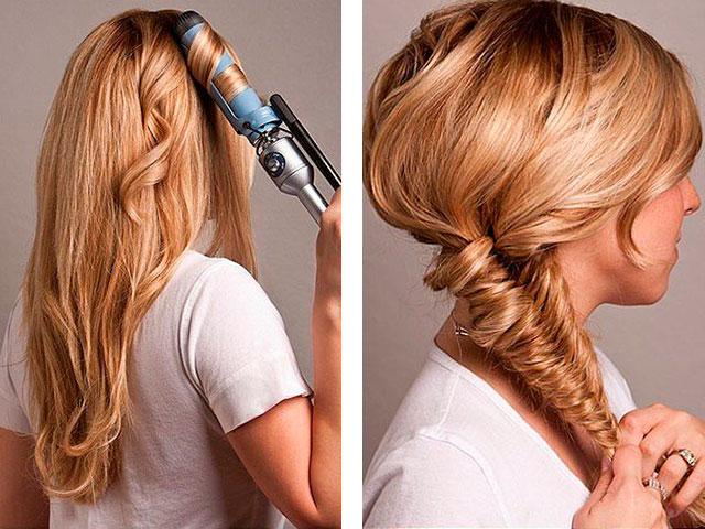 Модные причёски на длинные волосы