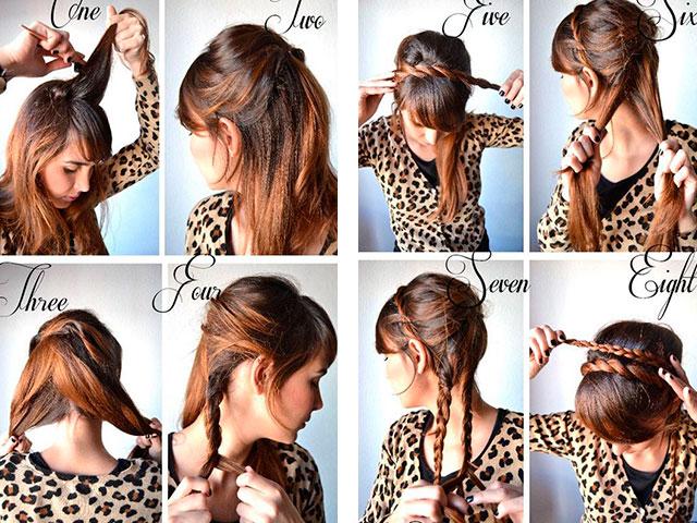 Прически на длинные волосы пошагово